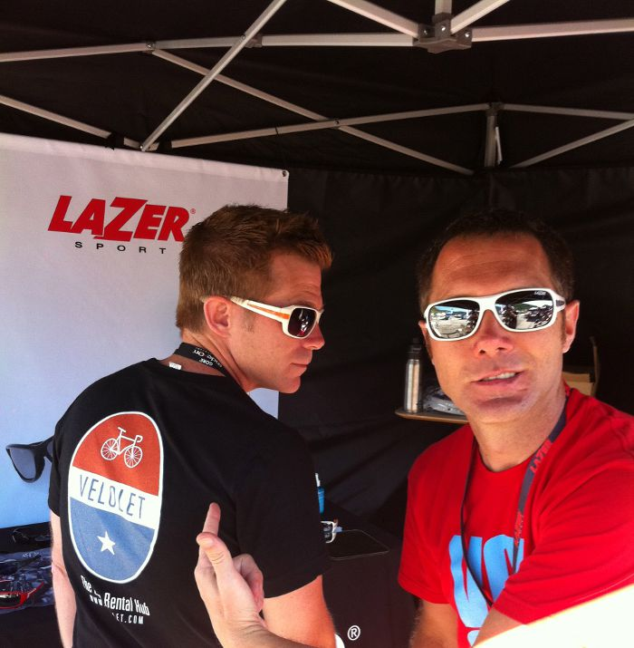 Dan Cleary, Velolet, Lazer, Dealer Camp